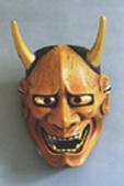Хання - маска мстящего демона